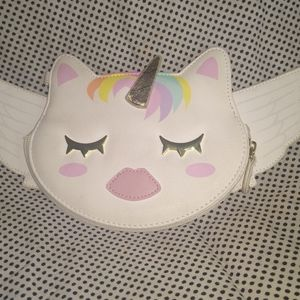 Betsey Johnson Luv Betsey Unicorn Clutch wallet